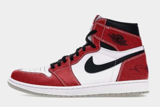 2021 Release Trophy Room x Air Jordan 1 High OG Chicago Shoes DA2728-100