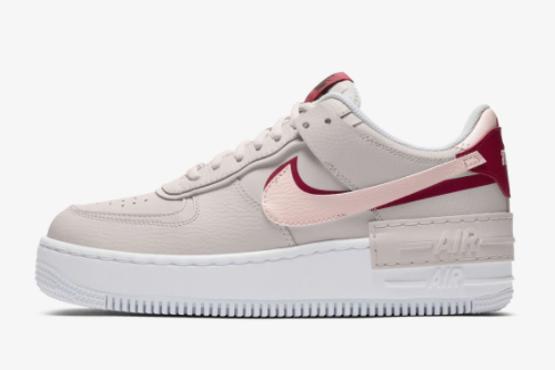 Girls Nike Wmns Air Force 1 Shadow Shoes Eco Pink CI0919-003